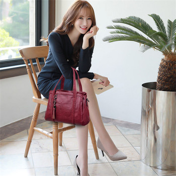 Women Genuine leather Retro Handbag 1