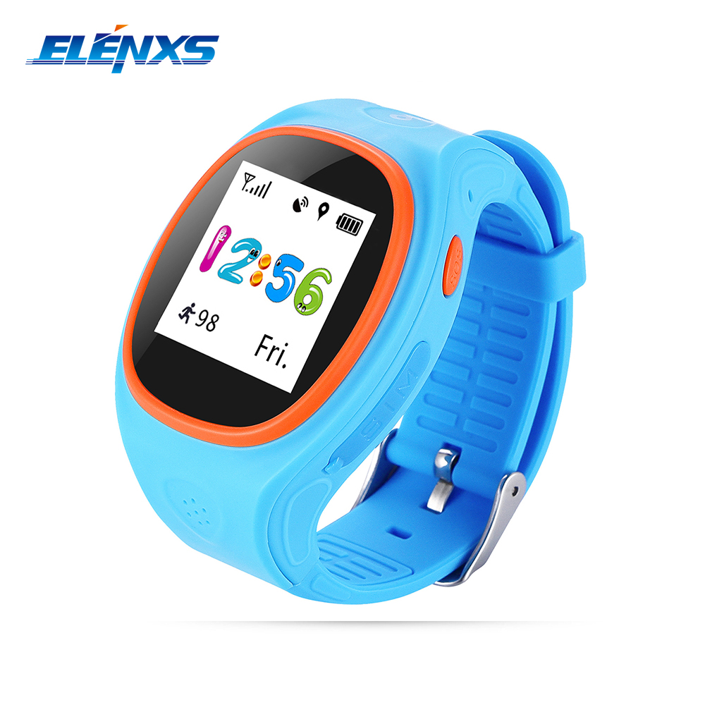 S866A Smart Watch Kids GPS/LBS Positioning SOS Call IPS Screen Children Smartwatch for IOS Android Kid Safe Anti-Lost Monitor