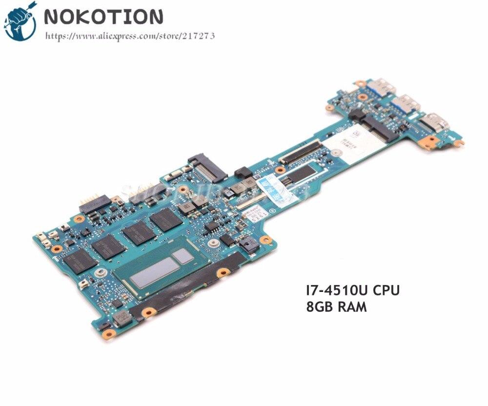 NOKOTION A1951396C V270 MBX 1P 0134J00 8011 основная плата для sony Pro13 svp13 Материнская плата ноутбука SR16Z i7 4500U Процессор 8 ГБ Оперативная память