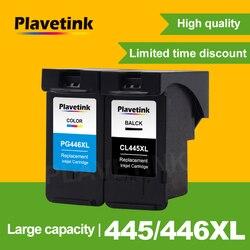 Plavetink regenerowany wkład atramentowy zamiennik dla Canon PG 445 PG445 PG-445 XL CL-446 do drukarki Canon PIXMA MX494 MG2440