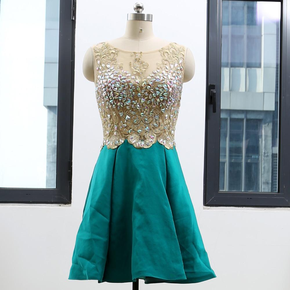 2aadf4b006b Buy short satin prom dress and get free shipping on AliExpress.com