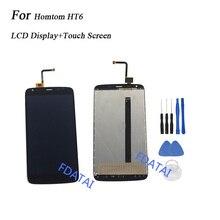 Homtom HT6 LCD Ekran + Dokunmatik Ekran Için 5.5 inç Homtom HT6 Meclisi Onarım Yedek Cep Aksesuarları + Araçları Için