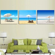 Laeacco Canvas Calligraphy Paintings on the Wall Seaside Summer Holiday Posters and Prints Artwork Home Decoration