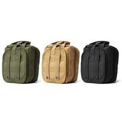 Пустая сумка тактическая медицинская Первая помощь Утилита Сумка Аварийная сумка для жилета и ремня пакет лечения открытый водостойкий 900D