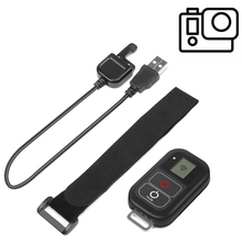 купить SHOOT 0.8 Inch Waterproof Wireless Wifi Remote Control for Gopro Hero 7 5 6 4 with USB Charger Cable Remote Go pro 7 6 Accessory по цене 3212.27 рублей