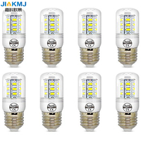 E27 5W White LED Light Bulb Lamp Low Power Consumption AC 110 120v Cool White 6500K