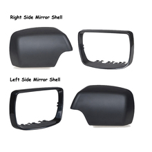 H2CNC Left Right Rear View Mirror Cover Case Shell Trim Kit For BMW E53 X5 2000 2001 2002 2003 2004 2005 2006 #51168256322