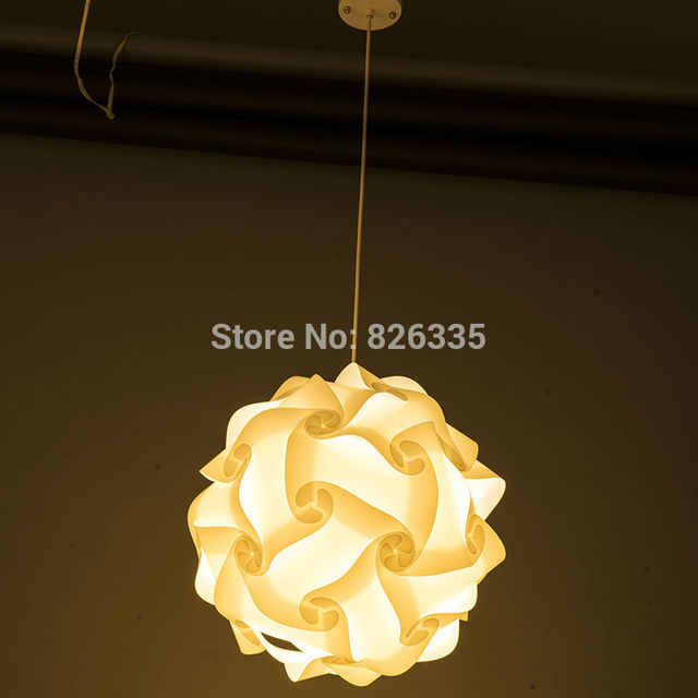 Home puzzle creative jigsaw celling light bar decoration m size lamp home puzzle creative jigsaw celling light bar decoration m size lamp shade lampshade design 30pcs mozeypictures Choice Image
