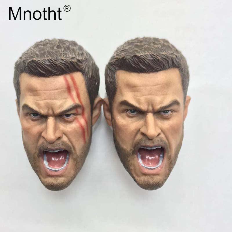Mnotht 1:6 Scale Twilight for the Gods Head Sculpt Gladiatus Thor Head Carving Model For 12in Action Figure Toys Collections m3