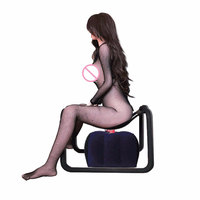 Sex Chair+Sex Pillow Swing Decadence Bounce Weightless Stool Multifunction Sex Furniture Seat Erotic Sex Products Toy For Women