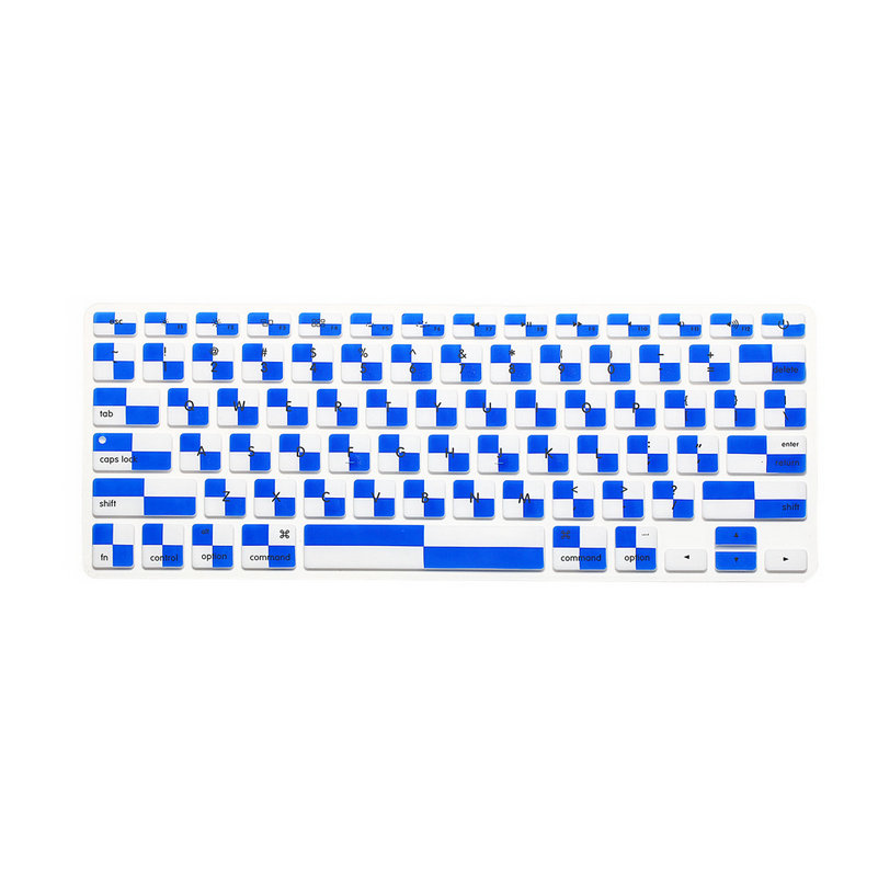 """HOT BLUE Silicone Keyboard Cover Skin for All Macbook 13/"""" 15/"""" 17/"""" New Arrival"""