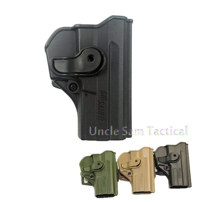 Tactical Airsoft P1290 Polymer Retention Roto Waist Holster for Sig Sauer Pro SP2022/SP2009 image