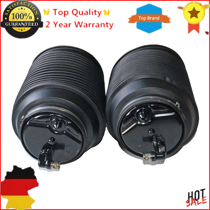 2 New Rear Right+Left Suspension Air Spring Bags For Toyota Land cruiser 4 Runner Prado Lexus GX470 4.7L 4809035011 4808035011 air suspension bag new rear left shock strut for toyota 4 runner gx470 prado 2003 2009 car styling oem 48090 35011