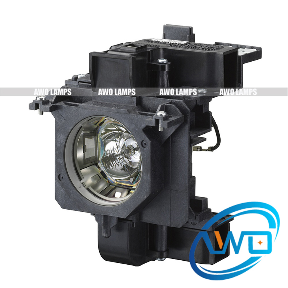 AWO ET-LAE200 Compatible Projector Lamp with Housing for PANASONIC PT-EZ570/PT-EW630/EW630L/PT-EX600/EX600L/PT-EW530/EX500 et lab80 etlab80 lab80 for panasonic pt lb78 pt lb80ea pt lb80nt pt lb80ntea pt lw80nt pt lb90 projector lamp bulb with housing