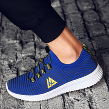 купить New Ultra Light Mens Sneakers Mesh Breathable Outdoor Sports Running Jogging Non-slip Male Flywire Trainers Athletic Footwear дешево