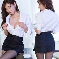 Socks Exotic OL Office Lady Costumes Outfit Uniform Sexy Intimates Sexy Lingerie Hot Sexy Underwear