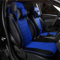 Custom leather car seat cover For car styling car accessories HYUNDAI GALLOPER LANTRA MATRIX PONY S COUPE SANTA FE SOLARIS