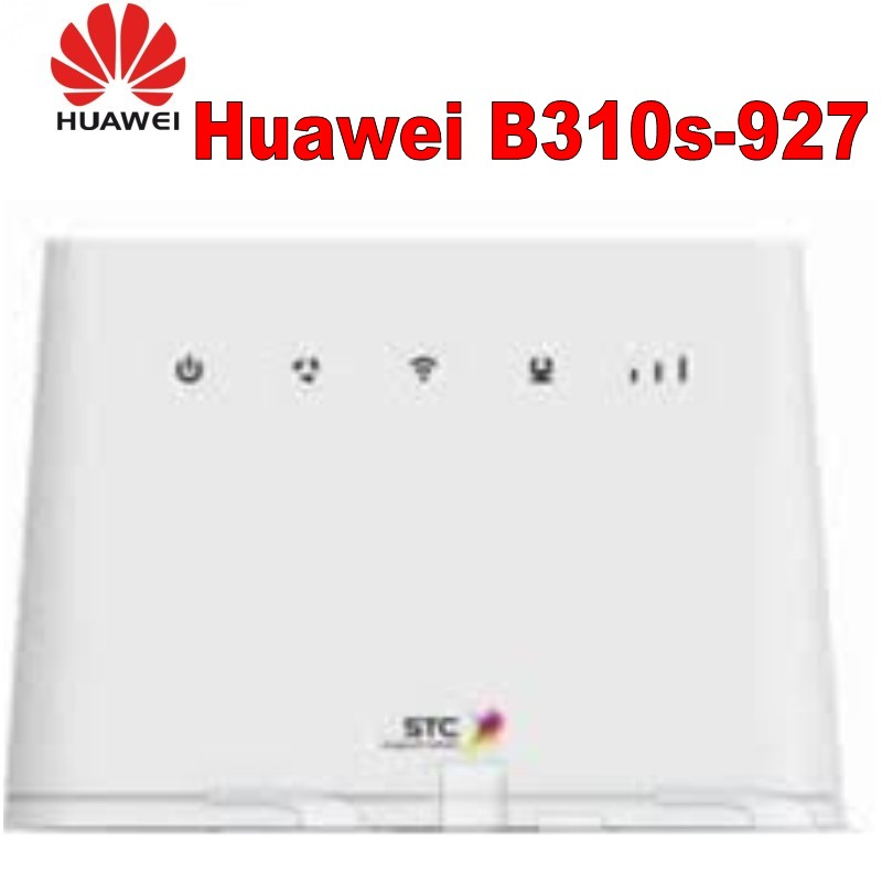 US $61 2 10% OFF|HUAWEI B310s 927 4G LTE 150Mbps FDD TDD Wireless CPE  Router Unlocked plus antenna-in Modem-Router Combos from Computer & Office  on