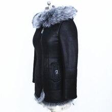 Factory direct supplier faux fox collar winter fashion High-end Cold resistant women's coats Wholesale custom slim jacket bolero