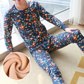 Brand Men Long Johns Mens Thermal Underwear Men Winter Set Warm Long John Sets Thick Man Thermals Cashmere Velet Suit M L XL