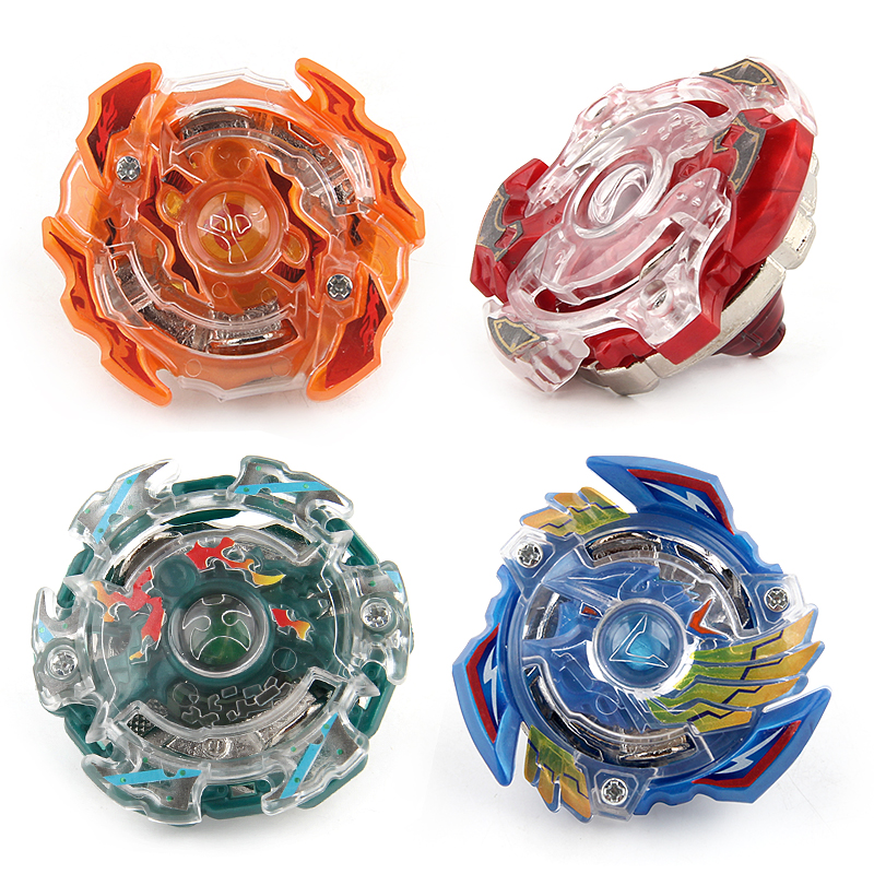 4 Stlyes New Spinning Top Beyblade BURST 3056 With Launcher And Original Box Metal Plastic Fusion