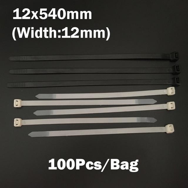 12*540mm 12x540mm (12mm Width) Black White Network Wire String Self ...