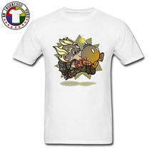 01073f3a03ac6 Funny Cheap White Slim Fit T-Shirt Super Junk Boy Bomb Interesting Cartoon  Tshirt Student