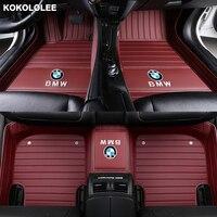 kokololee Custom car floor mats for Mercedes Benz All Models A160 180 B200 c200 c300 E class GLA GLE S500 GLK car accessories