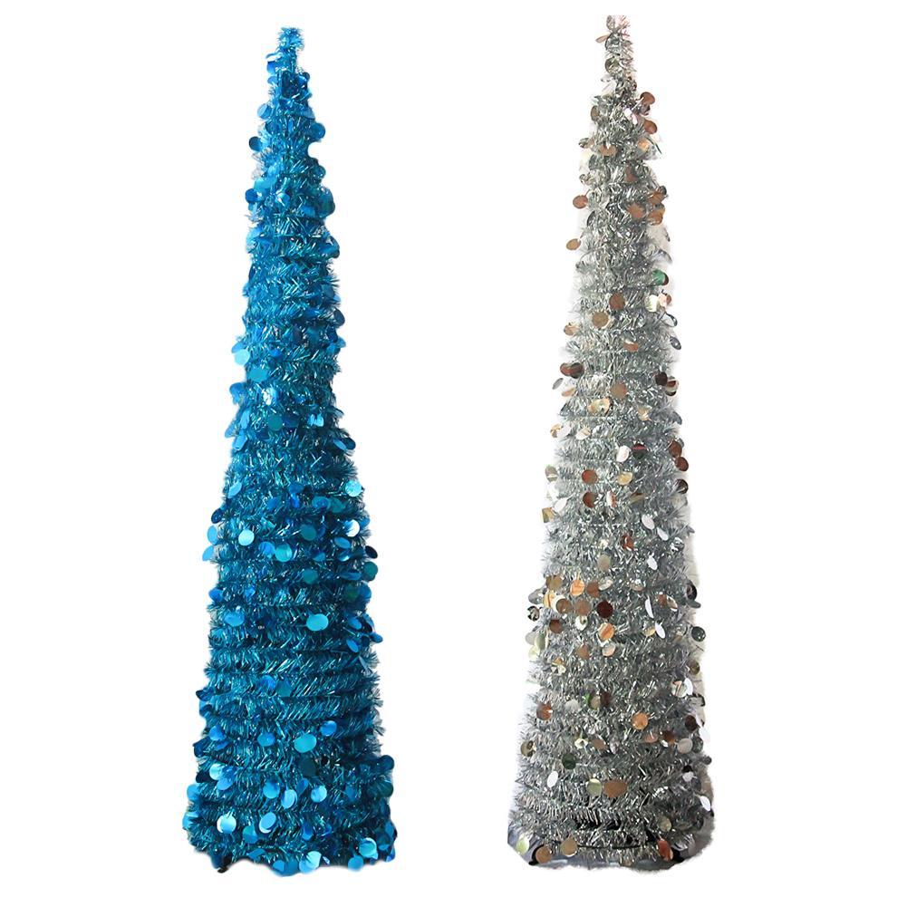 150cm Foldable Adjustable Christmas Tree Decoration Madder Christmas ...