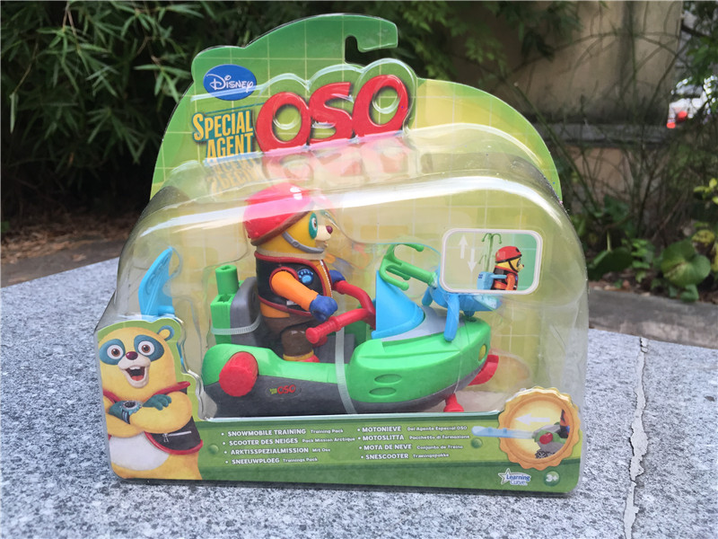 ФОТО Special Agent OSO Snowmobile Training Pack Toy Gift New in Box