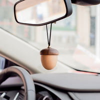 Car Air Freshener Wood Perfume Hanging Pendant Automobiles Interior Fragrance Smell Scent Odor Diffuser Perfume In The Car Gifts