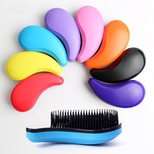 Fashion Anti-static Hair Massage Brush Comb Styling Tools Smooth Hair Combs Hairbrushes Handle for Salon Styling Women Girl Hair(China)