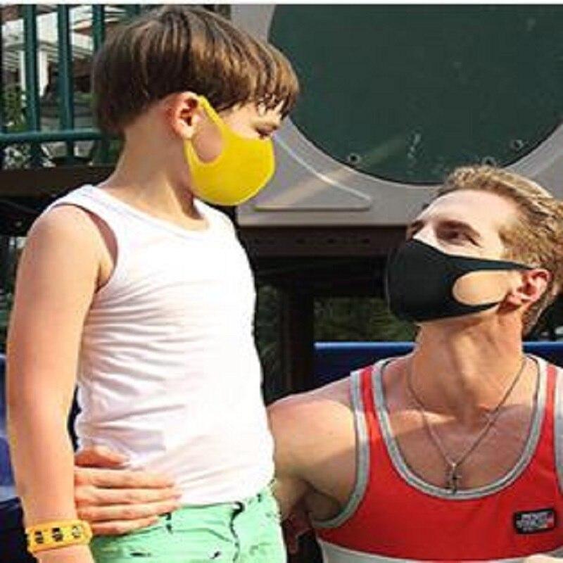 Image 5 - 3Pcs/set Earloop Mask Cycling Anti Dust Haze Mouth Face Masks For  Boy Children Kids