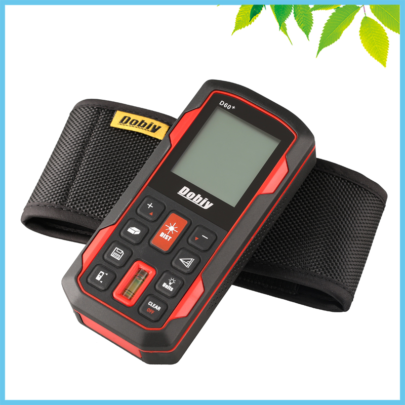 Bubble Level 40m Digital Laser Distance Meter Area Volume Distance Tester M FT Inch Tool Pythagoras Range Finder Tape Measure digital laser distance meter bigger bubble level tool rangefinder range finder tape measure 80m area volume angle tester