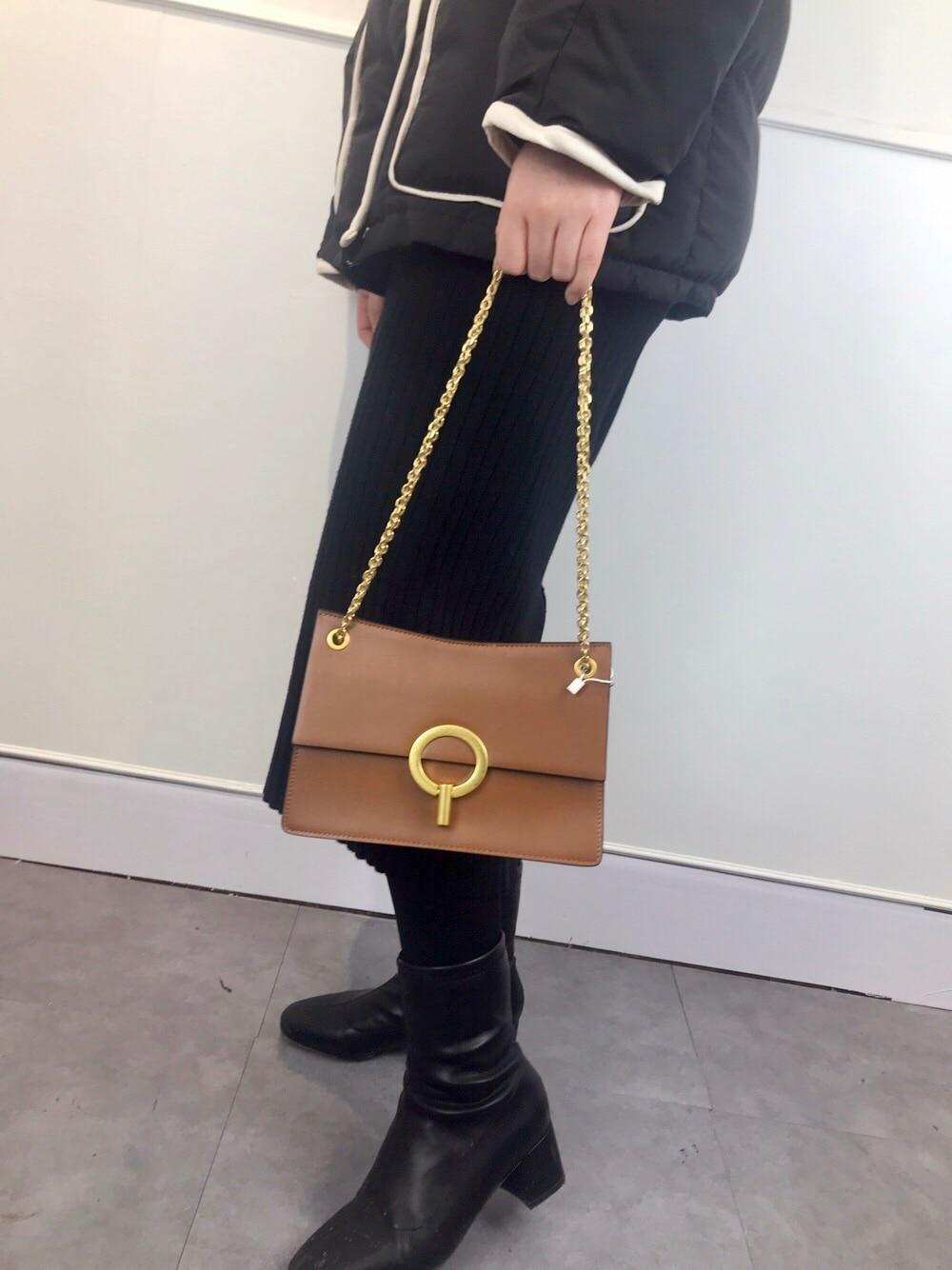 Bolsas Burgundy Femmes Cuir Chaîne De Sur Designer Qualité En Haute Célèbre Sac black Véritable Bandoulière L'épaule Feminina Kafunila brown Sacs xSwEqTnZCt