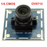 ELP 720 P CMOS micro mini usb board camera cho android của windows linux mac Ominivision OV9712 PCB board usb camera mô-đun
