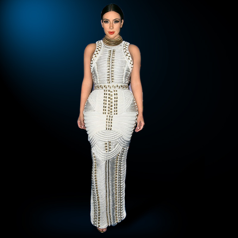 2 piece maxi dress kardashian
