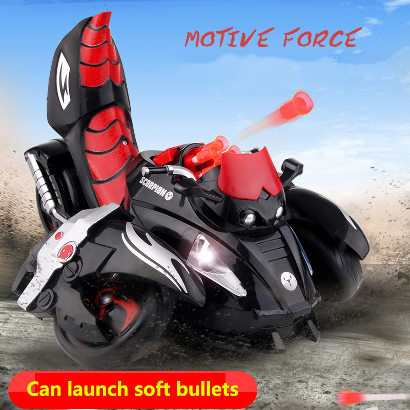 Здесь продается  Remote Control Stunt Car Deformed Scorpion Battle Robot RC Car with Launch Bullet LED Light Car Toys for Kid Boy Gifts  Игрушки и Хобби