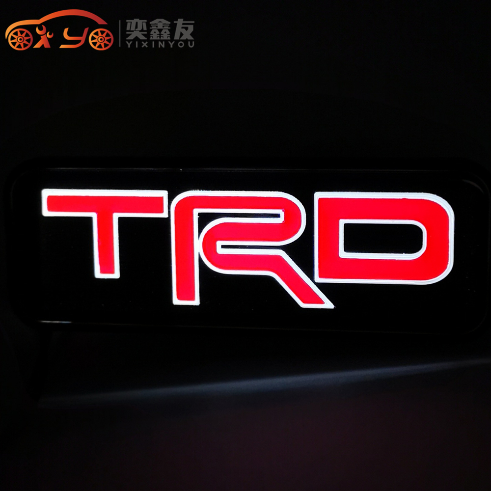 yixinyou 3d led trd racing logo badge emblem light for toyota rh aliexpress com trd racing logo vector trd racing development logo eps