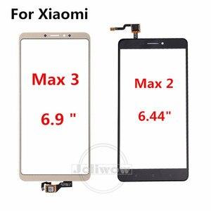 Image 2 - Handy Touch Panel Für Xiao mi mi Max Max 1 Max 2 Touchscreen Max 3 touch Panel Glas sensor Reparatur Ersatz