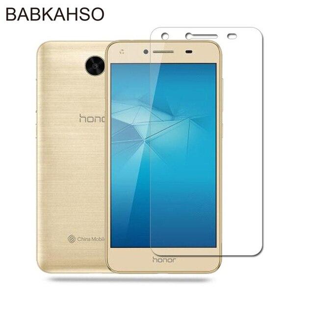 "Cristal templado 9H para Huawei Y5ii Y5 ii 2 U29 L21 L01, Protector de pantalla de 5,0 ""para Huawei y5 ii LCD CUN U29 CUN L21 vidrio"