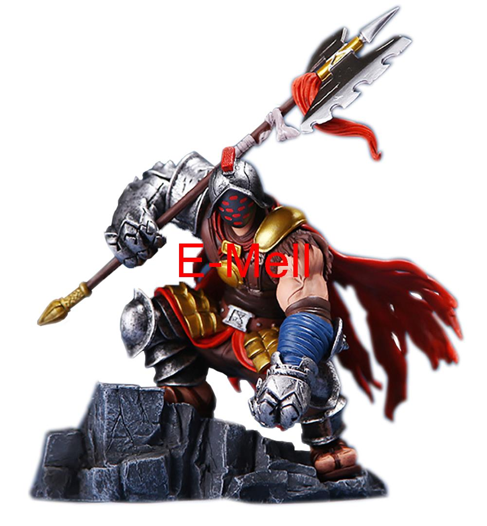 Cosplay 22cm/8.7'' LOL Grandmaster at Arms Jax PVC GK Garage Kits Action Figures Toys Model made for lol cosplay the loose cannon jinx 24cm 9 5 middle pvc gk action figures toys garage kits standing model