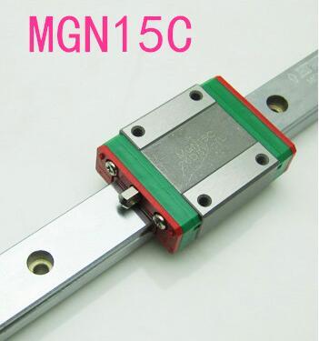 hotsale of hiwin block bearing MGN15C 1pc rail 300mm