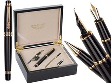 Fountain pen Calligraphy Nib + Broad Nib + Rollerball Tib  Original box HERO 1111standard pen 4box/lot Free Shipping