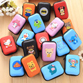 2016 New Novelty Super Heroes Silicone Coin Purse Key Wallet Mini Storage Organizer Bag Dual Earphone Holder Birthday Gift QB77