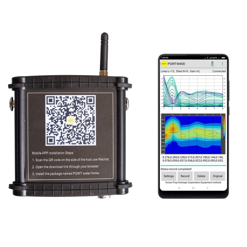 PQWT-M400 detektor wód podziemnych i sprzęt do badania wody 400 metrów głębokości/wykrywacz wody bezpłatne konsultacje
