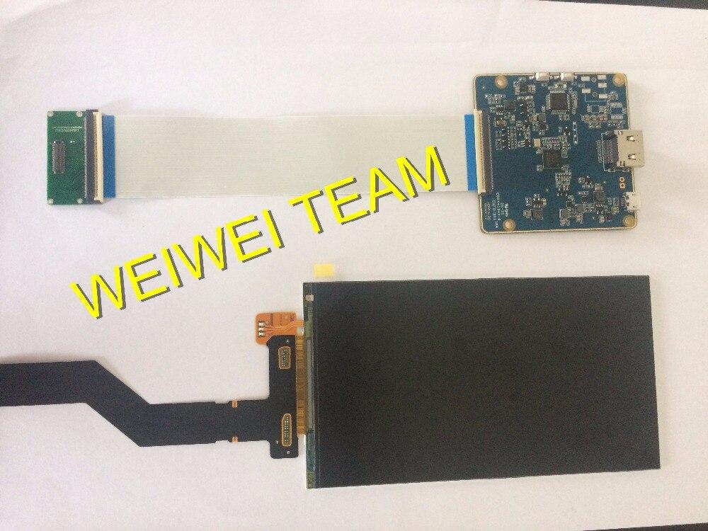 NUOVO 6 pollice 50 pin 2 k 2560*1440 60 hz frequenza di aggiornamento hdmi per mipi board con interfaccia mipi per proiettore FAI DA TE/vr occhialiNUOVO 6 pollice 50 pin 2 k 2560*1440 60 hz frequenza di aggiornamento hdmi per mipi board con interfaccia mipi per proiettore FAI DA TE/vr occhiali