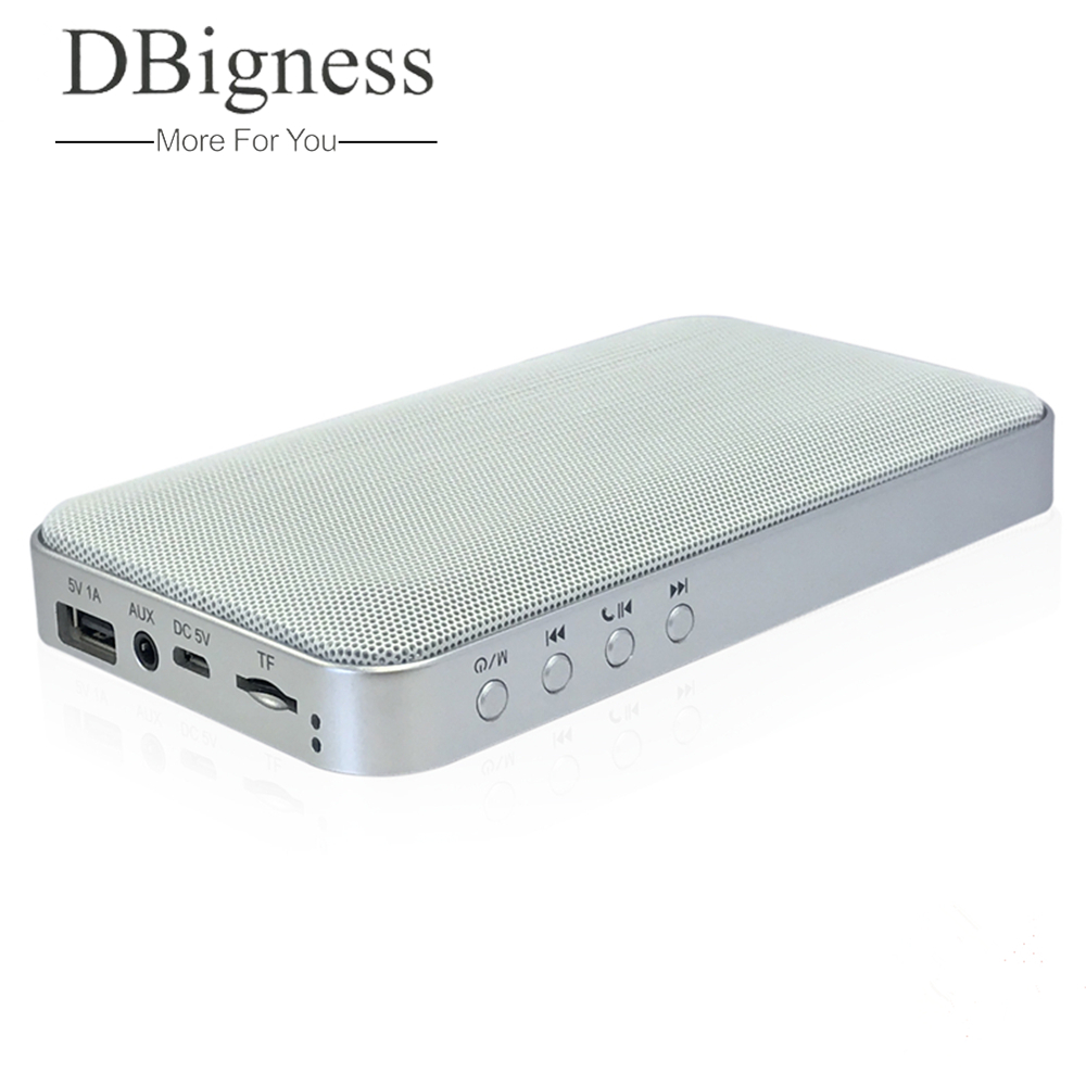 Dbigness Bluetooth Speaker Outdoor Soundbar Portable Wireless Speaker for Home Theater Party Speaker Sound System Stereo Speaker rotibox mini soundbar ultra compact portable mutimedia wireless stereo bluetooth speaker hifi powerful crystal sound with balacne audio deep bass cinema surround sound aux connection for outdoor sports play home audio