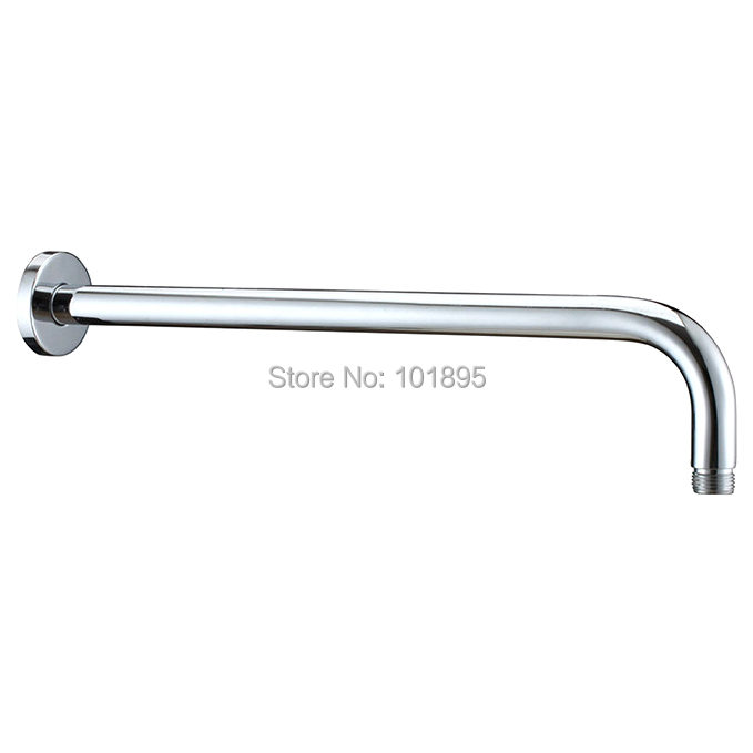 Luxury Wall Mounted L Shape 1/2 Thread 33cm To 53cm Length Of 304 Stainless Steel Shower Arm