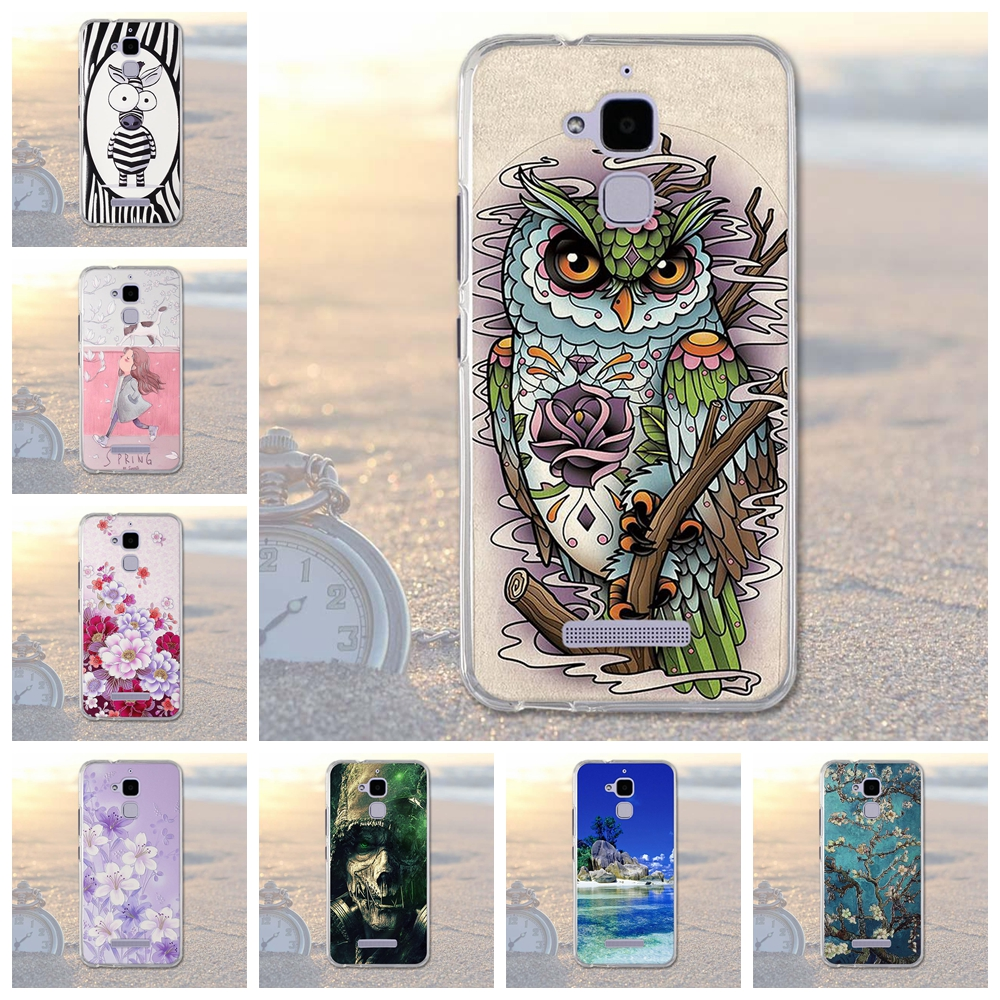 Soft TPU Phone Case Cover For <font><b>Asus</b></font> Zenfone 3 Max ZC520TL <font><b>X008D</b></font> Zenfone3 Max Zenfone Pegasus 3 horse 3 X008 5.2 Housing Bag Cover image